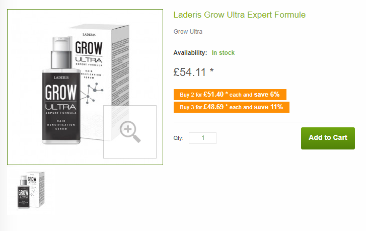 Grow Ultra pricing