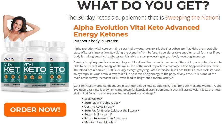 How Does Alpha Evolution Keto Work