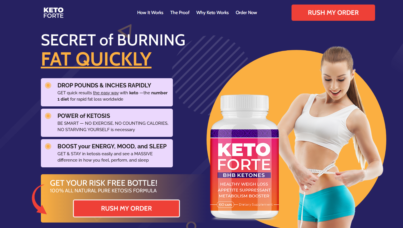 How to Use Keto Forte BHB
